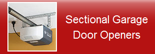 sectional door opener